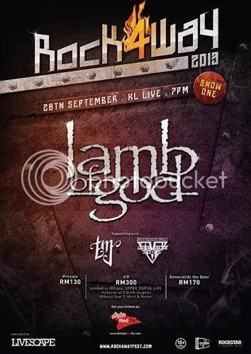 konsert lamb of god dibatalkan