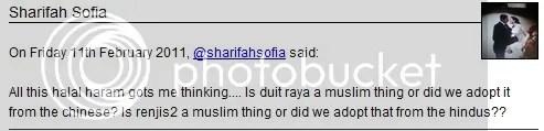 sharifah sofia