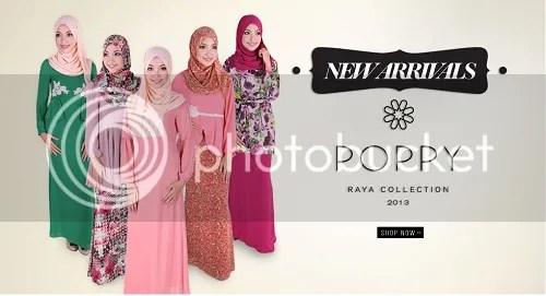 "Menangi Baju Raya ""POPPY Raya 2013 Collection"" Anjuran ..."