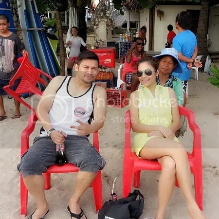 gambar honeymoon beego dan linda hashim