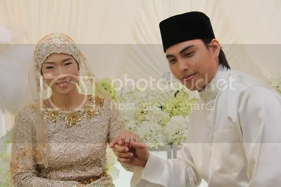 gambar kahwin jehan miskin