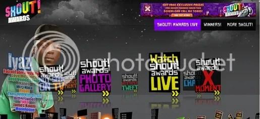 keputusan terkini shout awards 2010