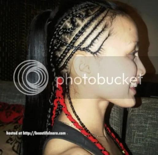 jue aziz baru rambut