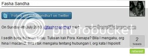twitter fasha sandha