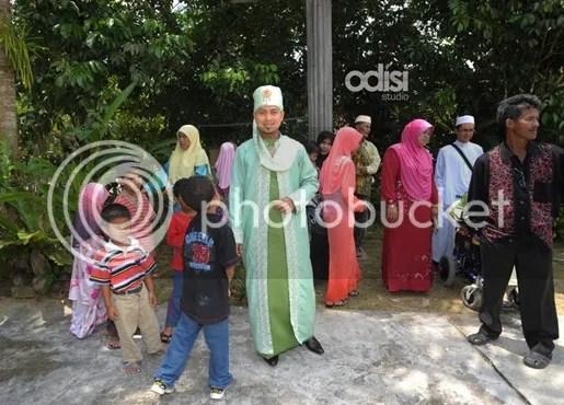 gambar perkahwinan ahmad fedtri yahya
