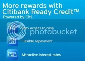 citibank ready credit