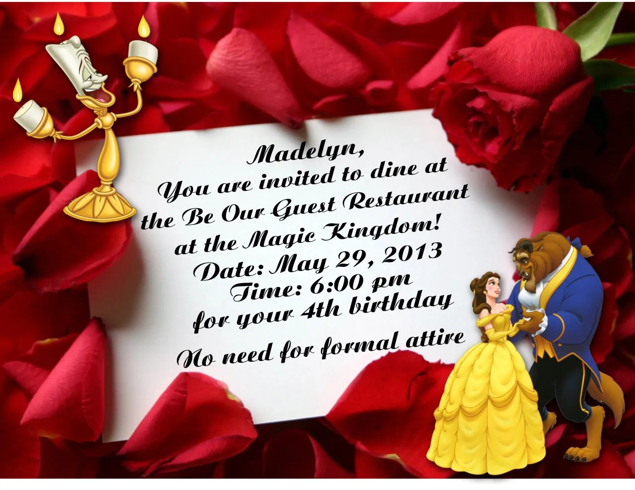 Be My Guest Invitations - Ivoiregion