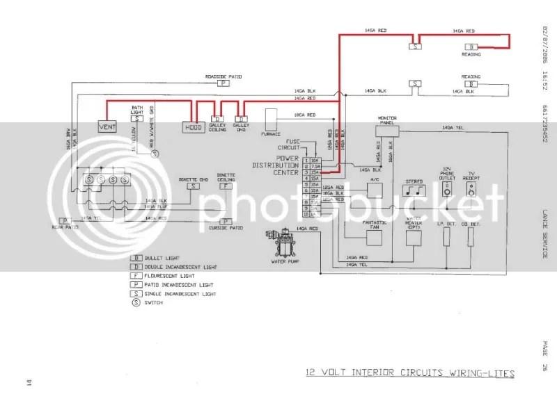 pickup camper wiring diagram camper trailer volt wiring diagram