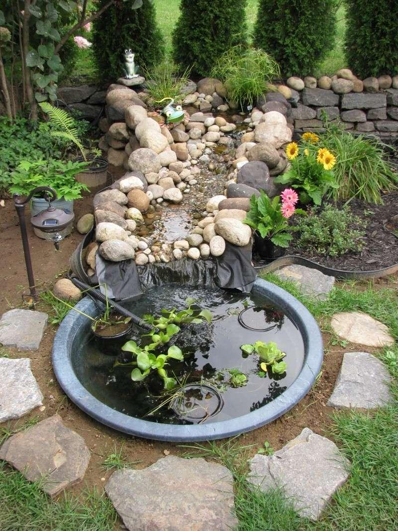 Petit Jardin Japonais Avec Bassin