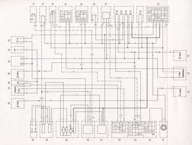 cbx 200 wiring diagram