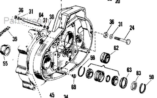 harley davidson engine del Schaltplan