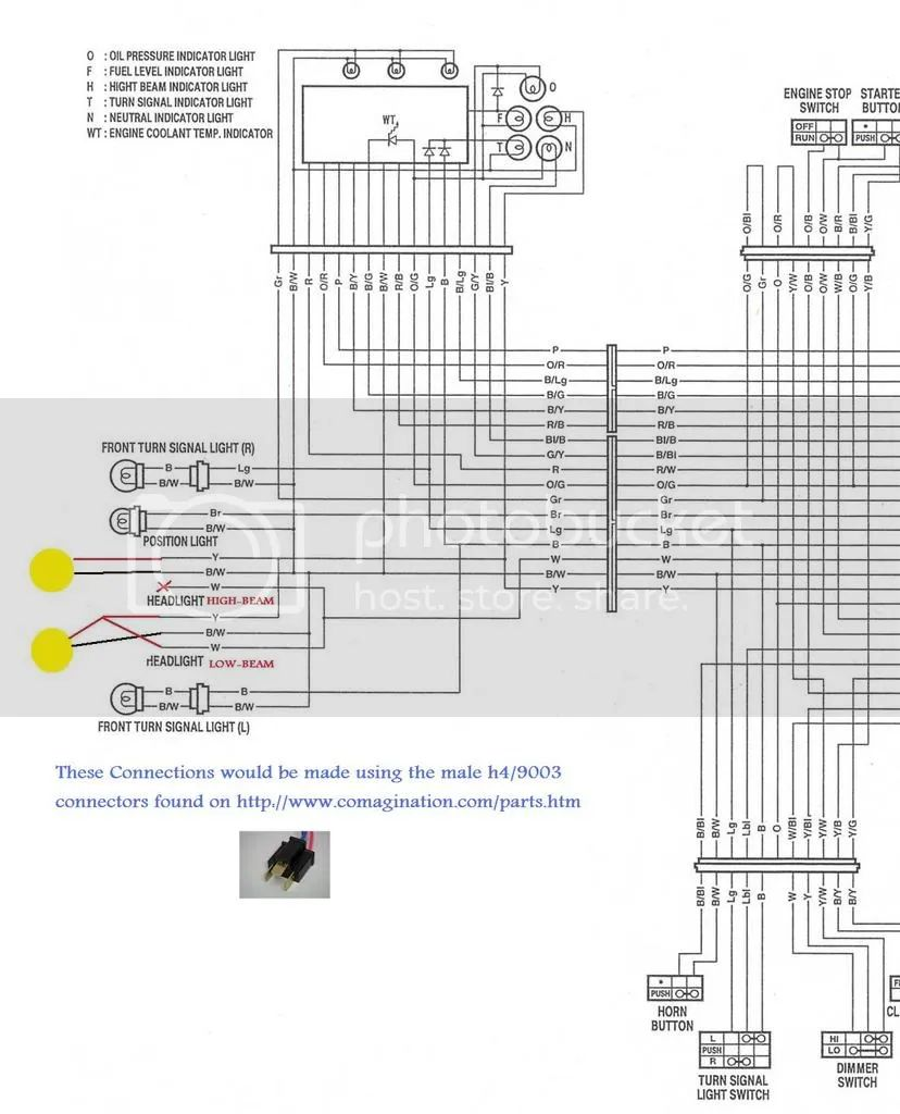headlight wiring suzuki sv650 forum sv650 sv1000 gladius forums