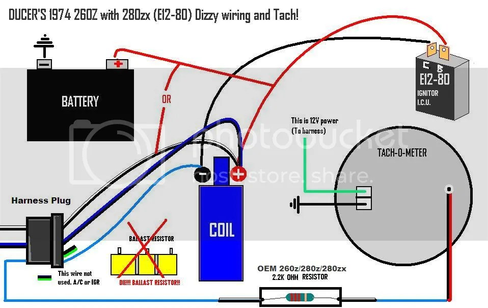 Chevy 350 Tach Wiring Wiring Diagram