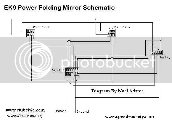 Wiring Diagram For Power Mirror Switch - 1efievudf