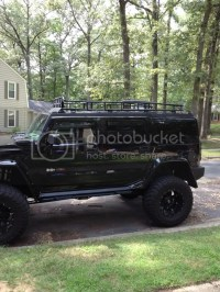 H2 Gobi rack with ladder FS - Hummer Forums - Enthusiast ...