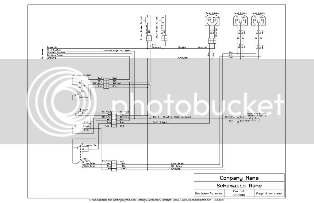 Tao 250 Atv Wiring Diagram Wiring Schematic Diagram