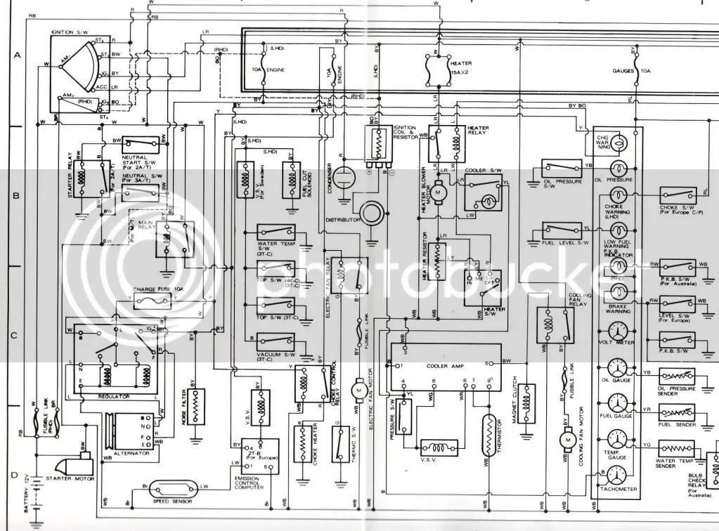 KE70 ALTERNATOR WIRING DIAGRAM - Auto Electrical Wiring Diagram
