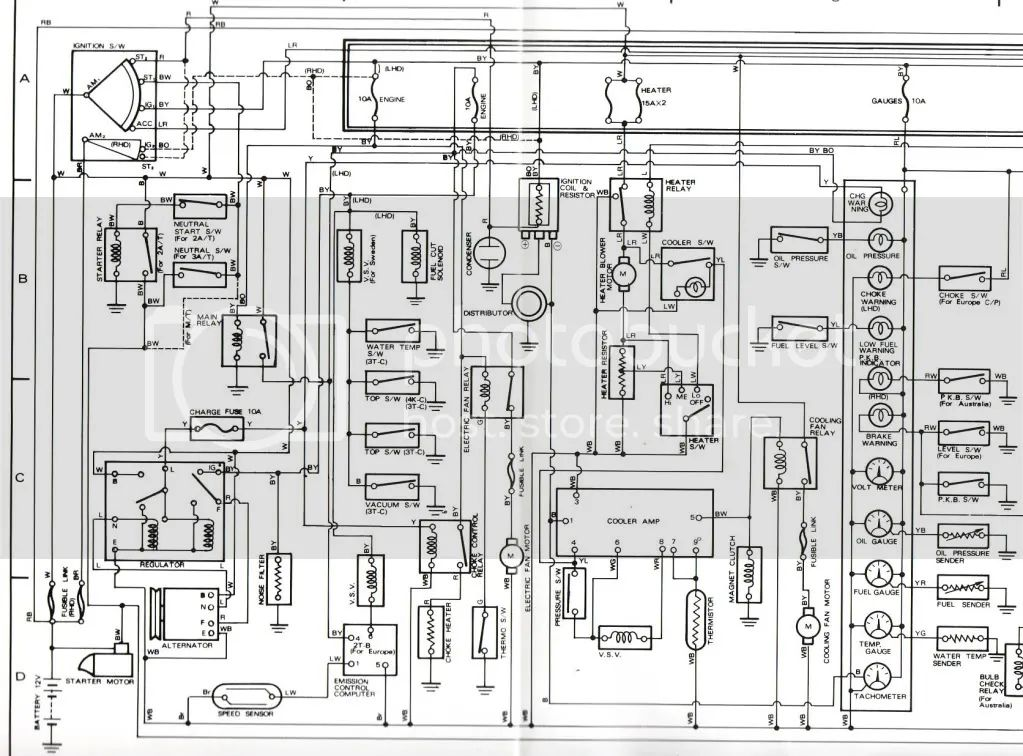 electric ke box wiring diagram