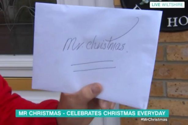 This Morning 08/08/2016 Andy Parks Mr Christmas