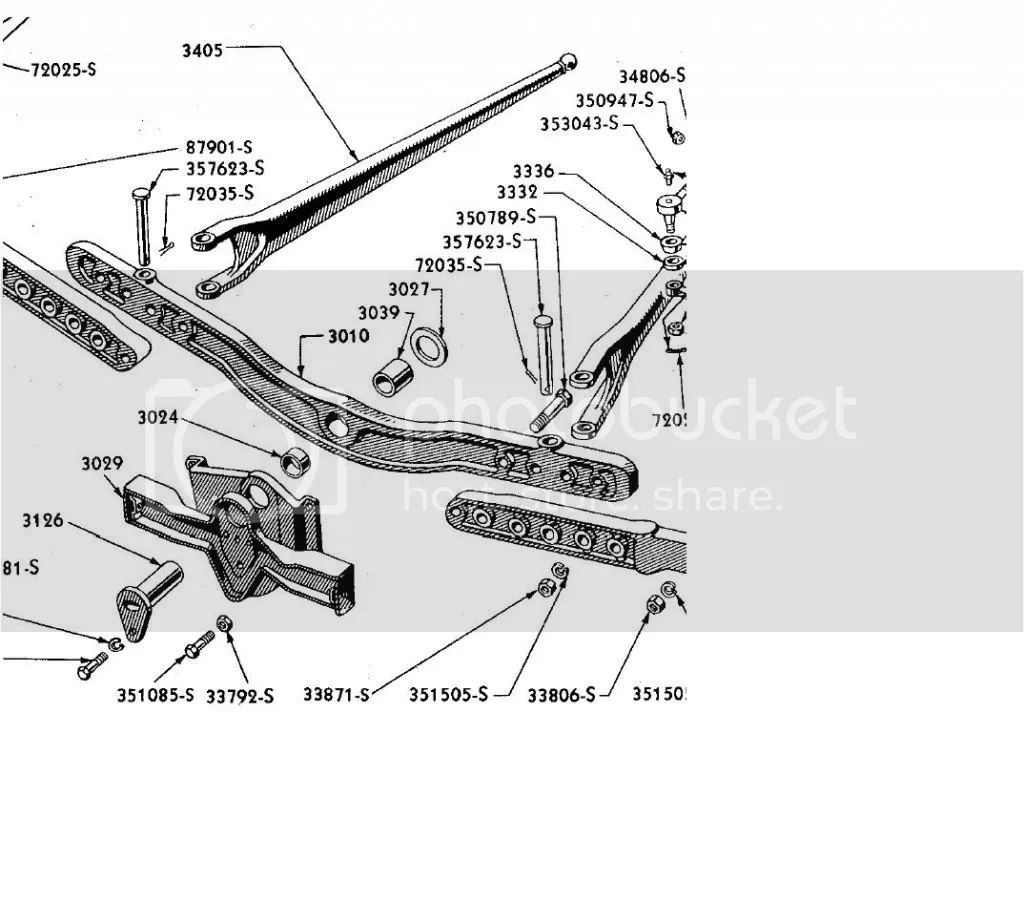 ford 4000 front axle diagram