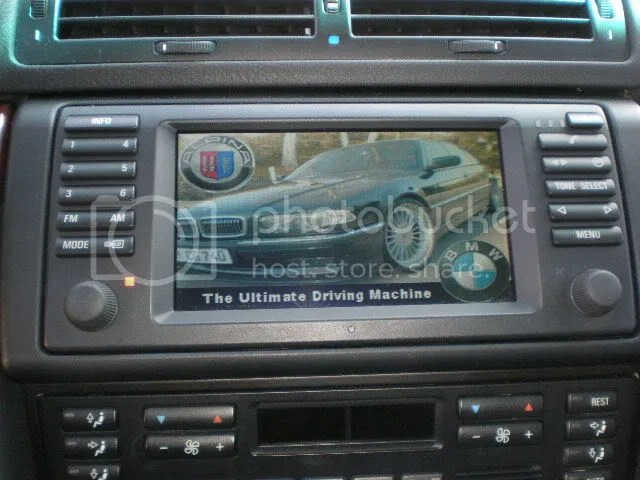 E38 w/ DSP and tapedeck \u003e upgrade to double din DVD in dash?