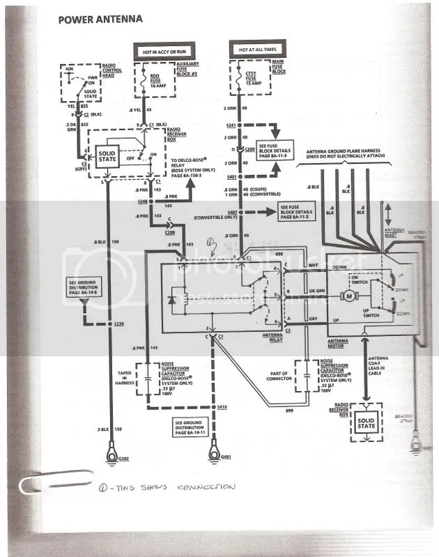 Power antenna problem help - CorvetteForum - Chevrolet Corvette