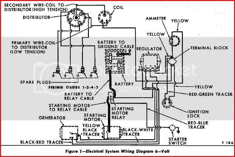 1962 ford 4000 tractor wiring diagram