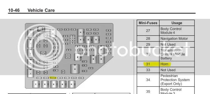 2011 cadillac cts v fuse box location