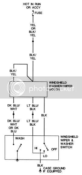 69 c10 chevy wiper motor wiring