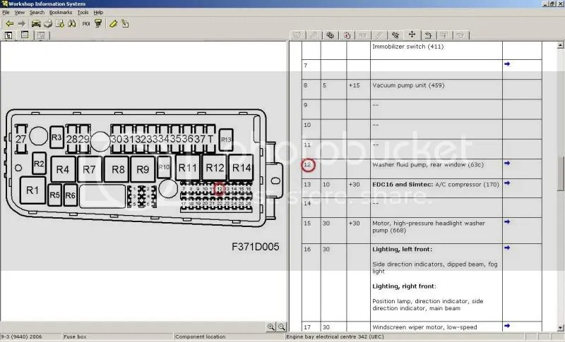 Saab 9 3 Fuse Box Index listing of wiring diagrams