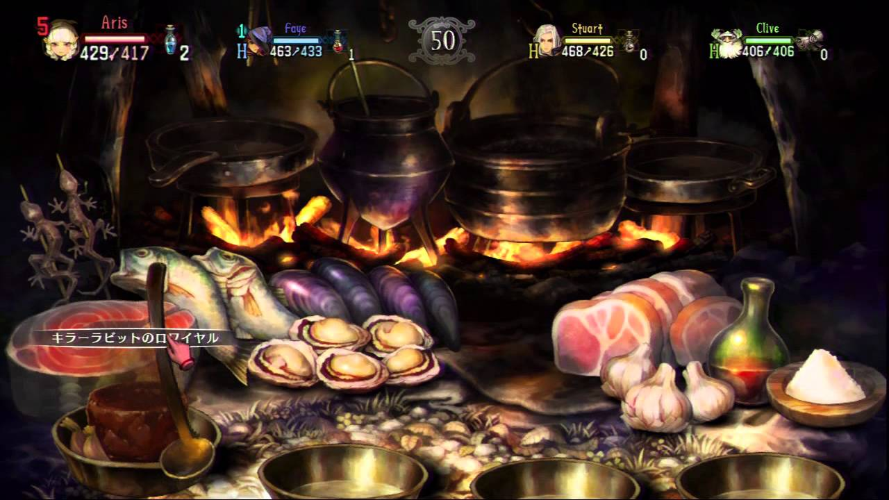Cuisine Gameplay Dragon S Crown Campfire And Cooking Ps3 Gameplay ネタバレ