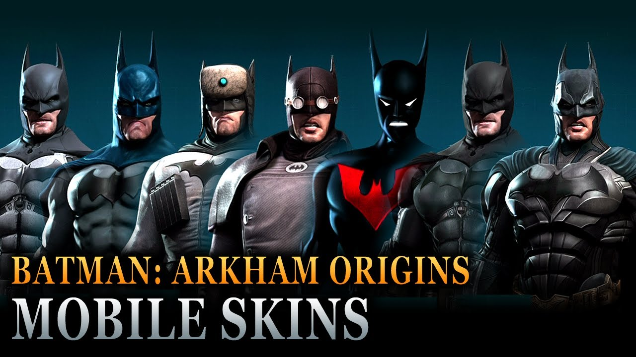 3d Superman Wallpaper Ii Android Batman Arkham Origins Mobile Batsuit Skins Fpvracer Lt