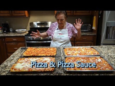 How to make Homemade Pizza From Scratch - Recipe by Laura Vitale - Laura in the Kitchen Ep. 86 ...