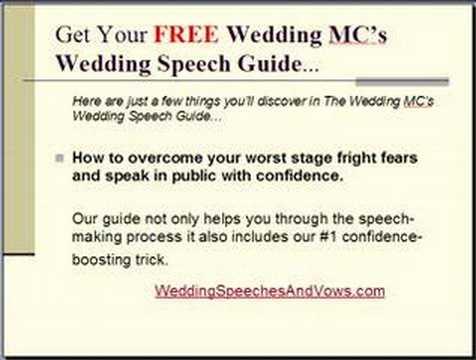 wedding welcome speech example mc - ArlenHester\u0027s blog - wedding speech example