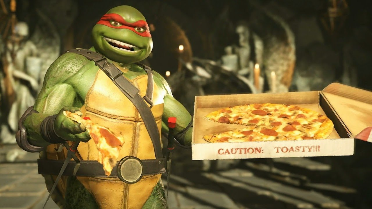 Cuisine Gameplay 15 Minutes Of Injustice 2 Teenage Mutant Ninja Turtles Gameplay