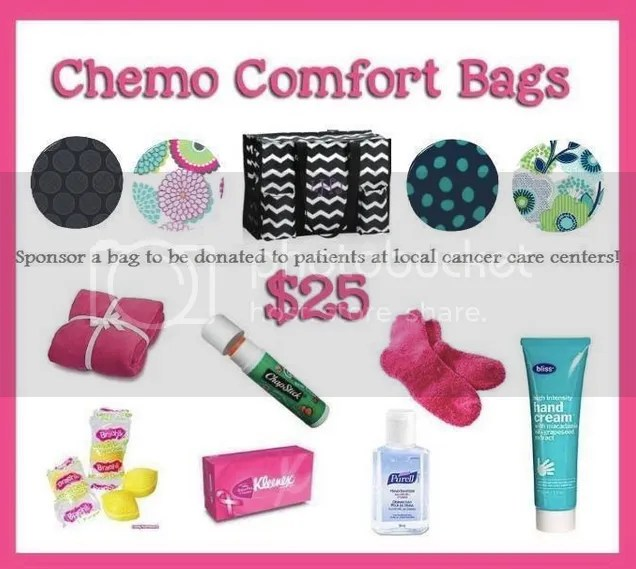 Thirty One Chemo Comfort Bags