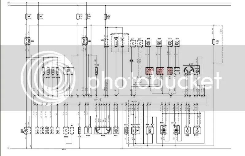 opel astra 1994 wiring diagram