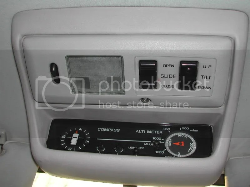 The Toyota Landcruiser Owners Club  View topic - Compass / altimeter