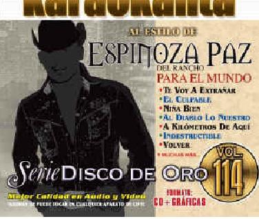 KAR 1814 - Espinoza Paz (Del rancho para el mundo) CDG