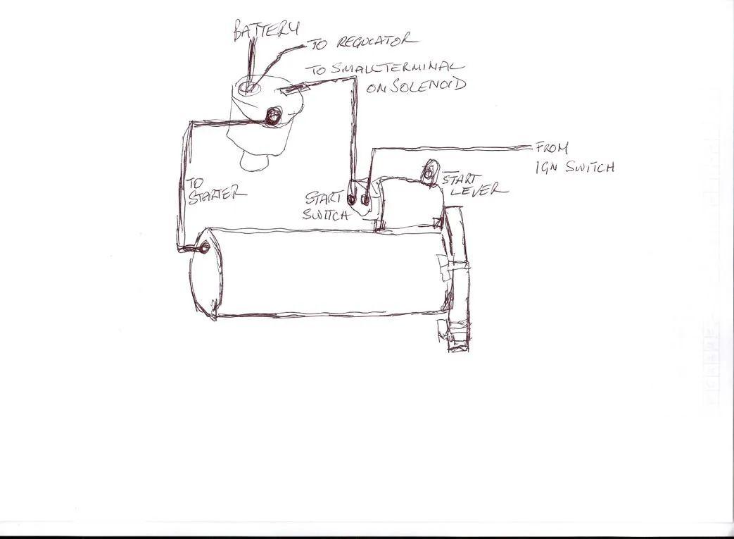 fordson dexta starter wiring diagram