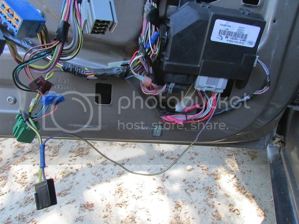 Ddm 1 Interieur 2008 P71 Driver Door Module Body And Interior Crownvic