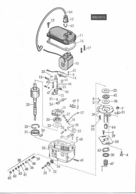 yamaha pw50 ignition coil wiring
