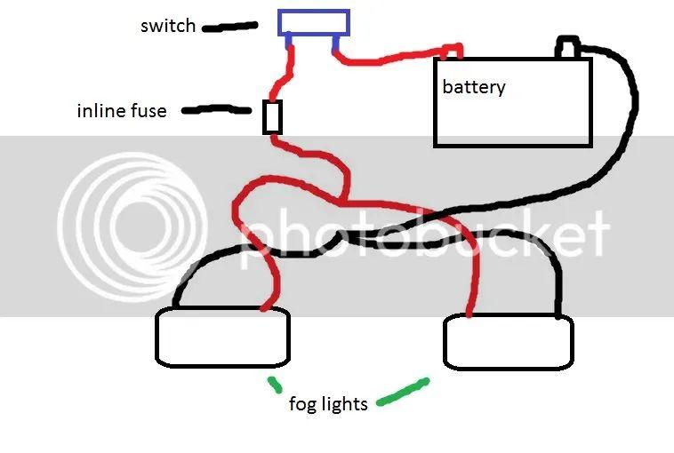 fog lights wire diagram