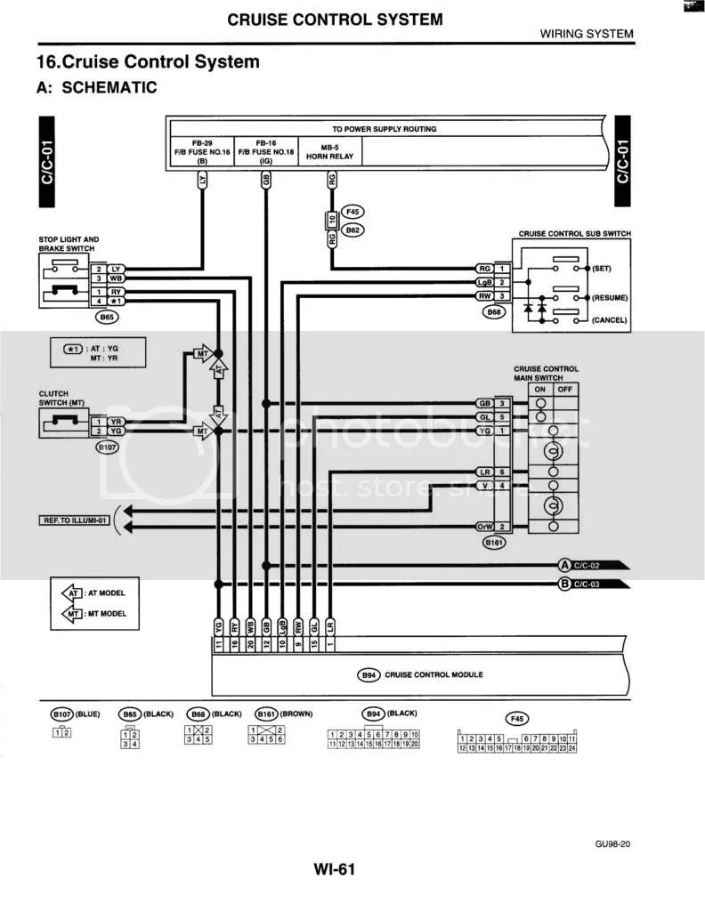 cruise control wiring 1980 camaro
