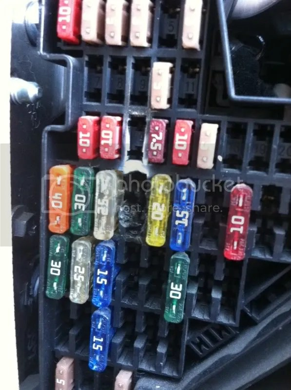 Car Fuse Box Melted Wiring Diagram