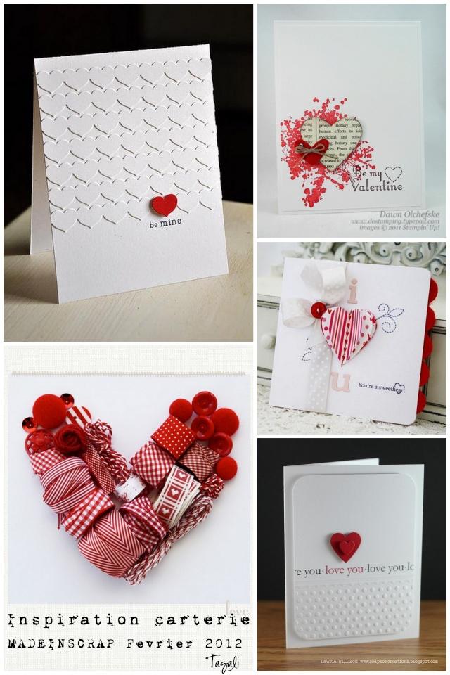 Carte Saint-Valentin - Magaly dans tous ses Scraps