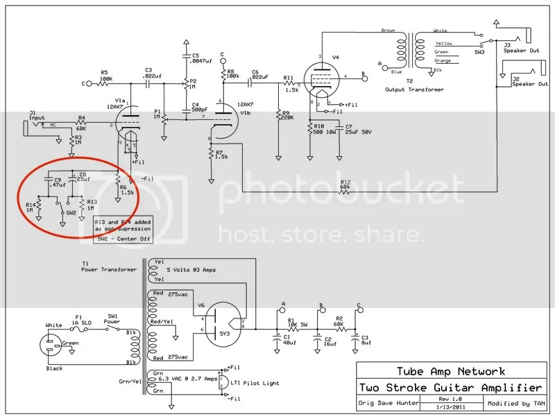 Boost/Voice Switch on Hoffman Princeton Reverb The Gear Page