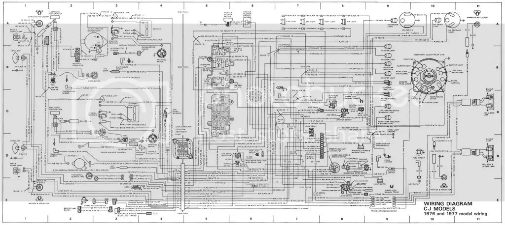 1981 Jeep Cj8 Wiring Diagram - Schematics Data Wiring Diagrams \u2022