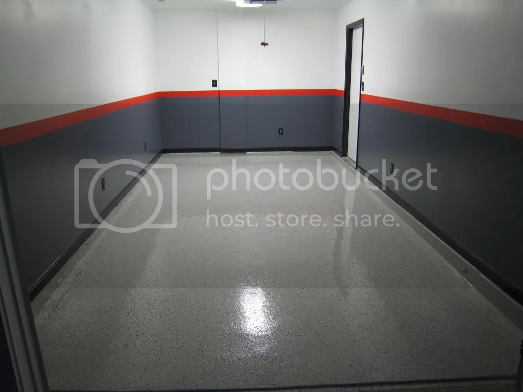 Garage Floor Epoxy Kit Reviews My Epoxy Floor Legacy Industrial Review Lots Of Pics The