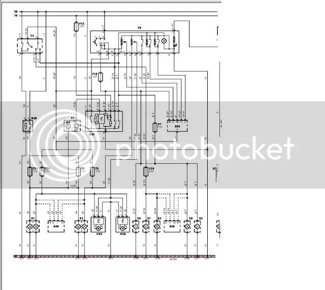 1958 opel bedradings schema
